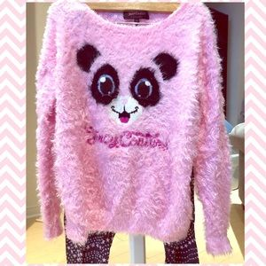 Juicy Couture Furry Oversized Sweater
